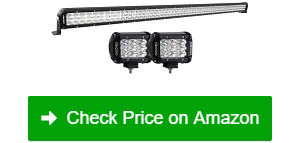 "OEDRO-52""-758W-LED-Light-Bar-+-2-Driving-Light-Pods"