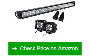"QUAKEWORLD-52""-300W-LED-Light-Bar-+-2-Driving-Fog-Lights"