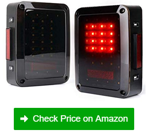 xprite bold series smoke lens led tail lights
