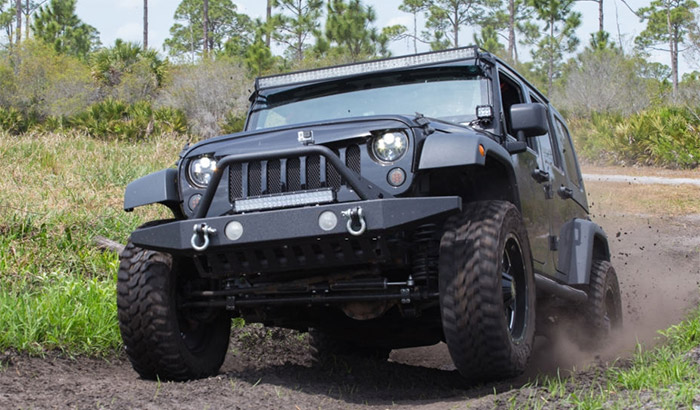 jeep jk off road lights