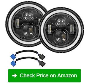 Zmoon Eye Ring DRL LED Headlights